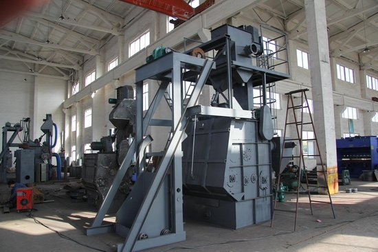 Rubber Tracked Shot Blasting Machine