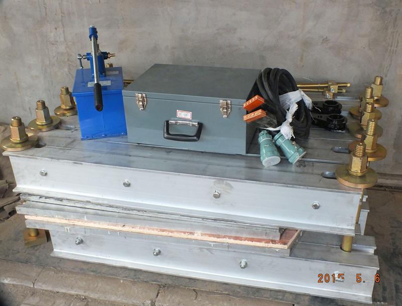 Conyeyor belt splicing vulcanizing press