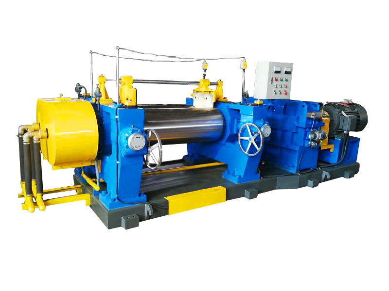 Rubber mixing mill machine