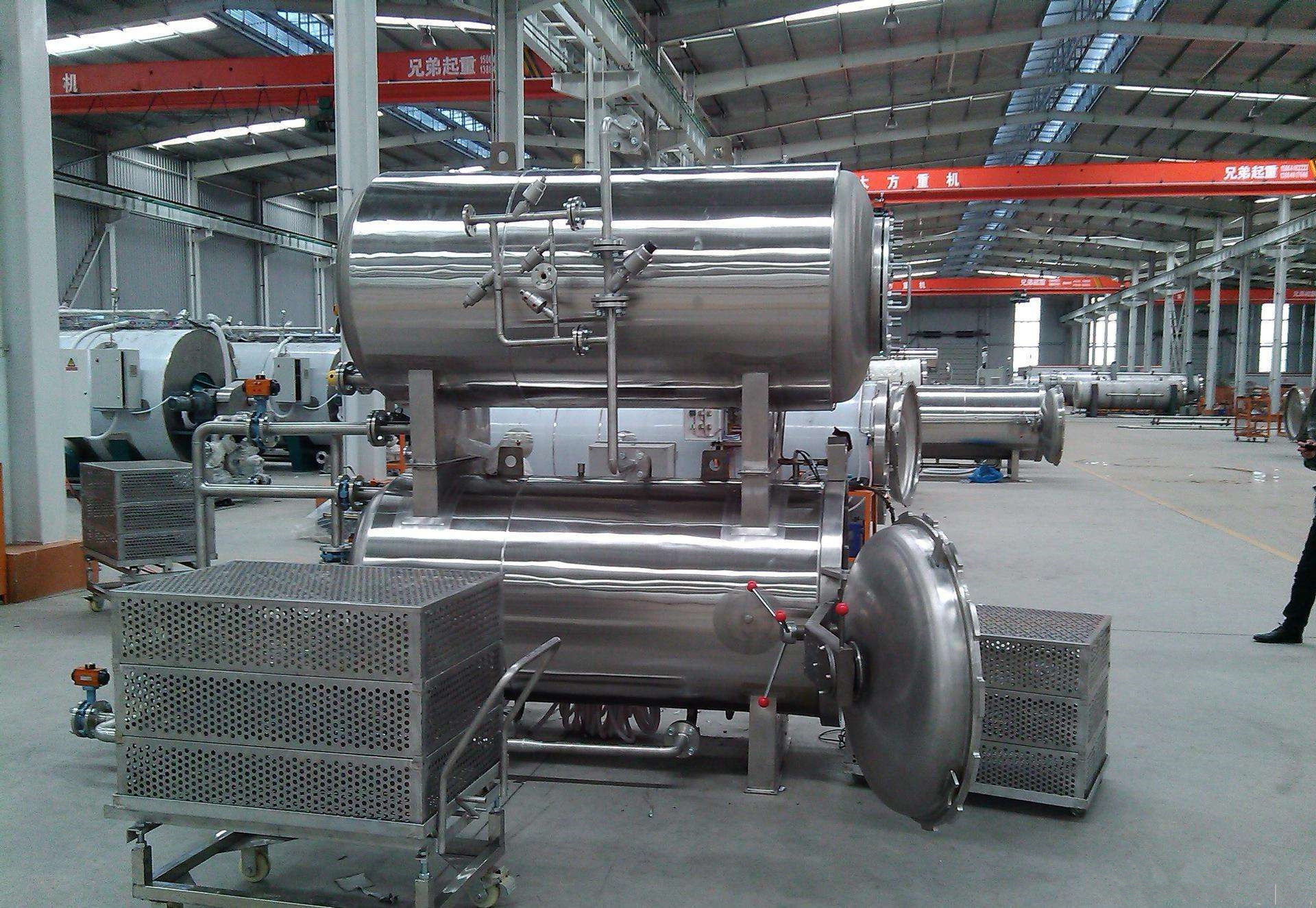 Sterilizer Autoclave for Food
